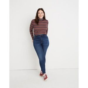 Madewell Curvy High-Rise Skinny Jeans Tarren Wash